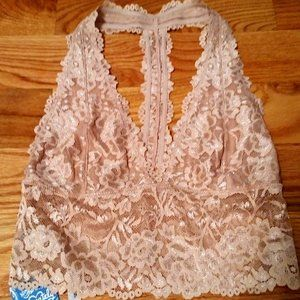 NWT Free People Intimately Lace Bralette